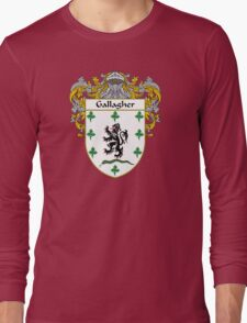 Gallagher Coat of Arms/Family Crest Long Sleeve T-Shirt
