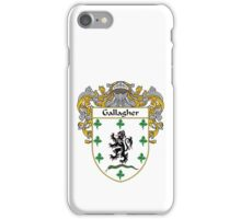 Gallagher Coat of Arms/Family Crest iPhone Case/Skin