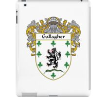 Gallagher Coat of Arms/Family Crest iPad Case/Skin