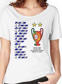 Porto 2004 Champions League Final Winners Women's Relaxed Fit T-Shirt