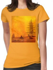 Morning of Glory  Womens Fitted T-Shirt