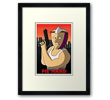 Pie Hard Framed Print