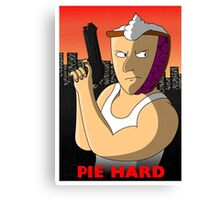 Pie Hard Canvas Print