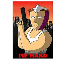 Pie Hard Photographic Print