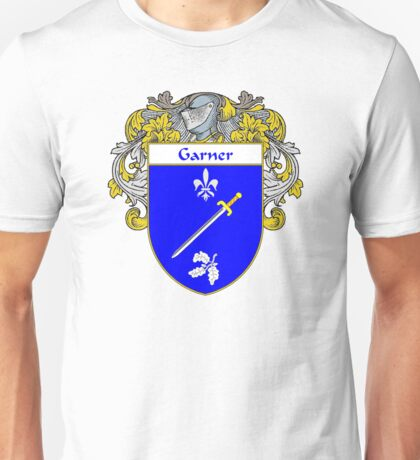Garner Coat of Arms/Family Crest Unisex T-Shirt