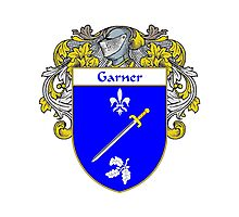 Garner Coat of Arms/Family Crest Photographic Print