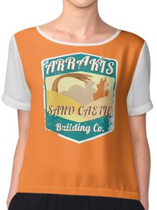 ARRAKIS SAND CASTLE BUILDING COMPANY  Chiffon Top