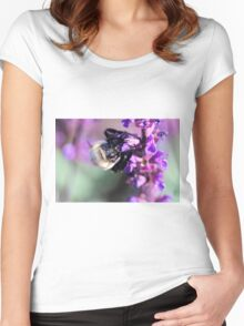 Busy Bee Women's Fitted Scoop T-Shirt