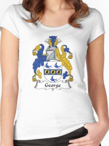 George Coat of Arms / George Family Crest Women's Fitted Scoop T-Shirt