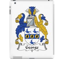 George Coat of Arms / George Family Crest iPad Case/Skin