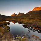 Sunrise at Tinnies Tarn by tinnieopener
