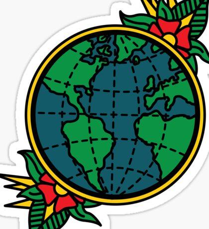 Globe Sticker
