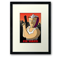 Pie Hard NEW Variant Framed Print