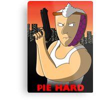 Pie Hard NEW Variant Metal Print