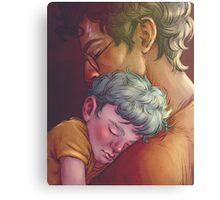 Harry and Teddy Canvas Print