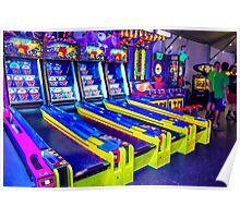 Neon Arcade Poster