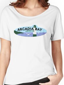 Life is strange Arcadia Bay Oregon Women's Relaxed Fit T-Shirt