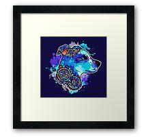 Bohemian Pit Bull Framed Print
