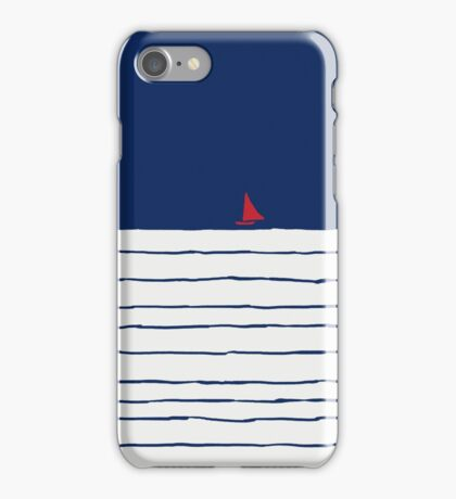 Sailing on the Sky iPhone Case/Skin