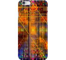 FEBRUARY BLUE COMPOSITION 5 iPhone Case/Skin