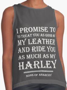 Harley-Davidson Lovers.! Contrast Tank