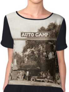 Route 66 Auto Camp Chiffon Top