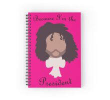 Jefferson's the President Spiral Notebook