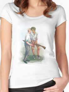 Quidditch? Women's Fitted Scoop T-Shirt