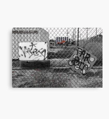 Suburb Slumps Canvas Print