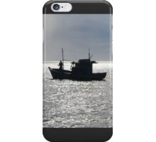 Lonely Fisherman iPhone Case/Skin