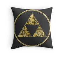 Triforce Throw Pillow