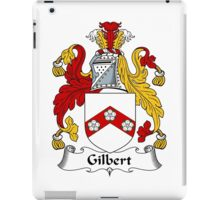 Gilbert Coat of Arms / Gilbert Family Crest iPad Case/Skin
