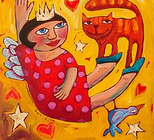 Surrendered to love by ART PRINTS ONLINE         by artist SARA  CATENA