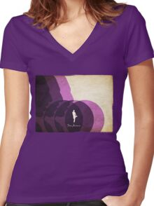 The Jesus Women's Fitted V-Neck T-Shirt