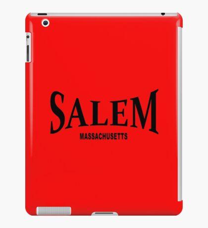 Salem Massachusetts - black  iPad Case/Skin