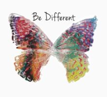 Be Different Butterfly Baby Tee