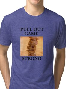 Pull Out Tri-blend T-Shirt