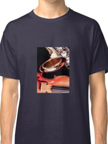 Close up of musical instruments Classic T-Shirt