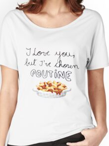 Poutine Love Women's Relaxed Fit T-Shirt
