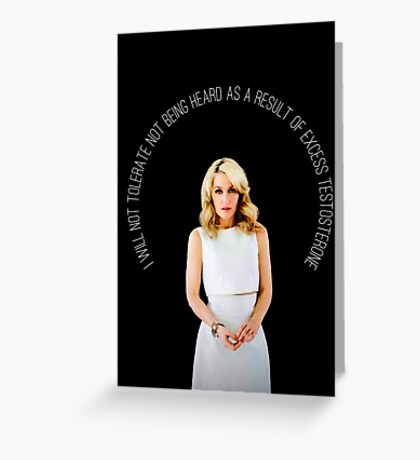 Gillian Anderson Quote Greeting Card