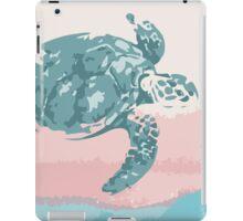 Pastel Turtle iPad Case/Skin