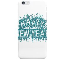 Happy New Year RHINESTONE - You Pick Rhinestone Color - T-Shirt or tank top S M L XL 2XL - Bling New Year's Eve 2015 2016 iPhone Case/Skin