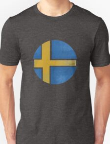 Sweden ball flag T-Shirt