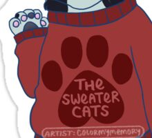 thesweatercats C3 Sticker