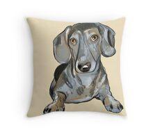 Their dog  Throw Pillow