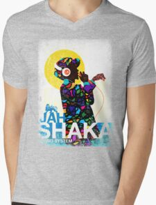 Jah Shaka Sound System Mens V-Neck T-Shirt