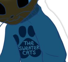 thesweatercats A4 Sticker