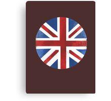 UK ball flag Canvas Print