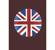UK ball flag Photographic Print