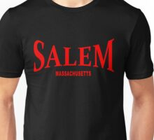 Salem Massachusetts - red Unisex T-Shirt